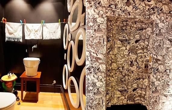 Dicas de decoração para lavabo criativo, diferente e original