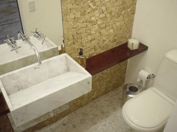 50 melhores lavabos decorados dicas fotos e ideias for Lavabos modernos