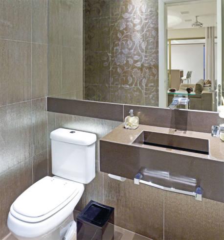 50 melhores lavabos decorados dicas fotos e ideias