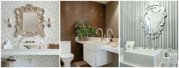Tendências de revestimentos e acabamentos para lavabos decorados