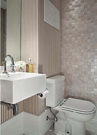 decoracao lavabos fotos : 50 Melhores Lavabos Decorados: Dicas, Fotos e Ideias ...