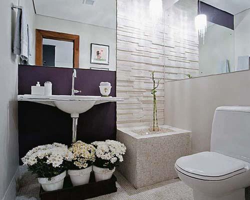 50 melhores lavabos decorados dicas fotos e ideias for Fotos lavabos