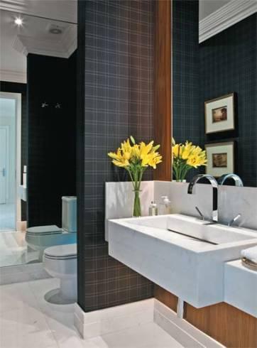 Ideias simples para decorar lavabo
