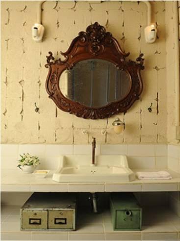 Dicas de decoração de lavabo rústico