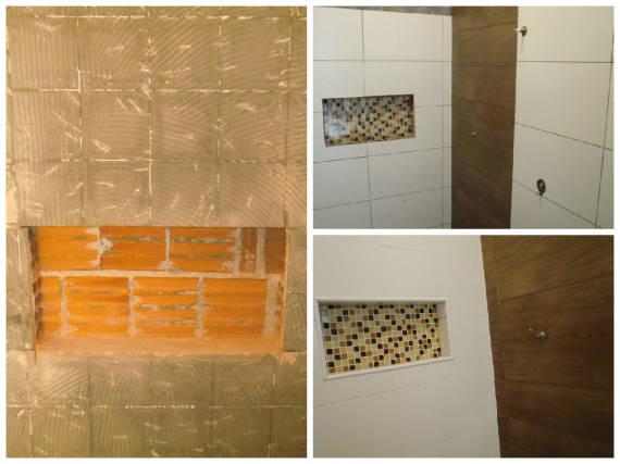 NICHO PARA BANHEIRO Como Fazer, Fotos e Dicas -> Nicho Para Banheiro Toalhas
