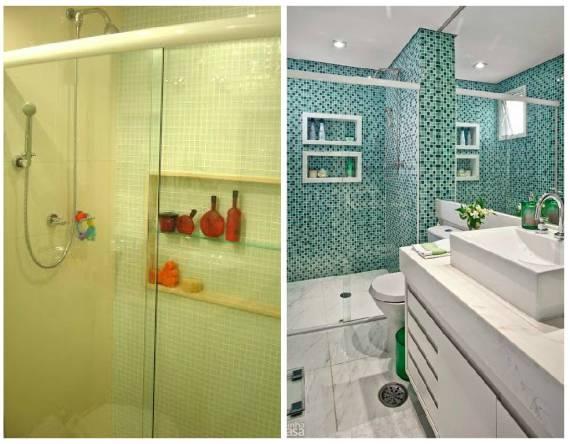 NICHO PARA BANHEIRO Como Fazer, Fotos e Dicas -> Nicho Armario Banheiro