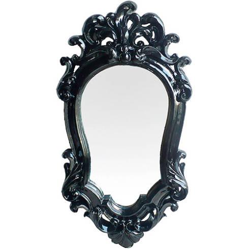 Tipos de espelhos decorativos dicas e fotos - Tipos de molduras ...