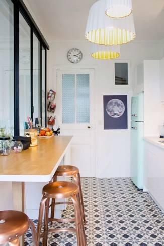 Tipos de pendentes para cozinha simples