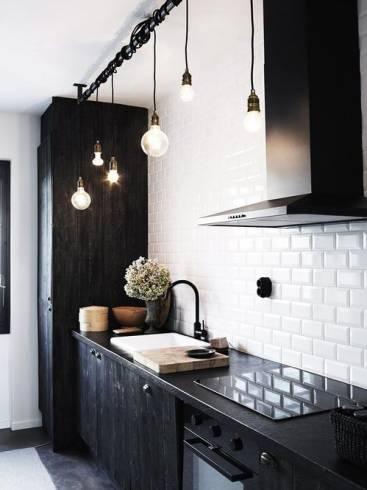 Dicas de pendentes descolados alternativos e rústicos para cozinha