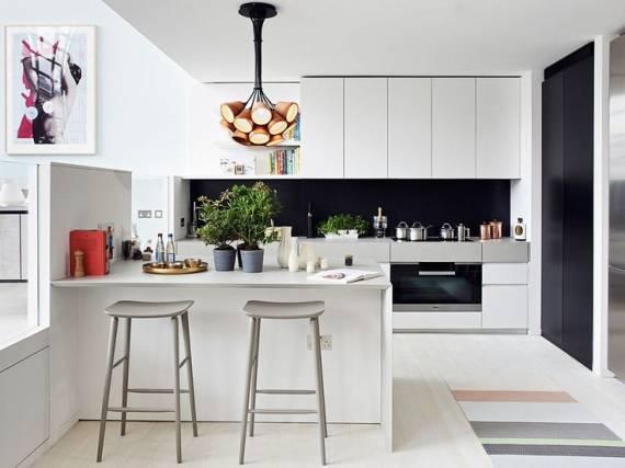 35 pendentes para cozinha dicas de modelos e fotos - Luminarias para cocina ...