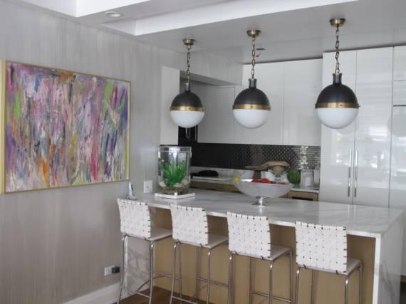 Dicas de luminárias Pendentes para cozinha pequena e moderna