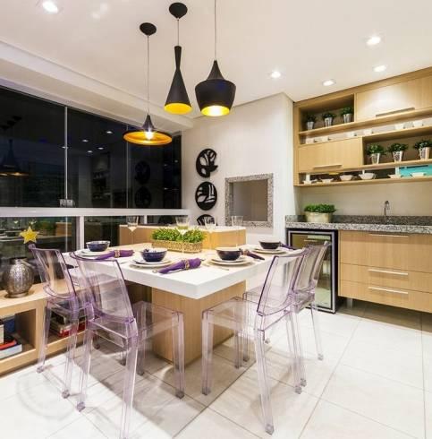 Dicas de pendentes para mesa da cozinha moderna