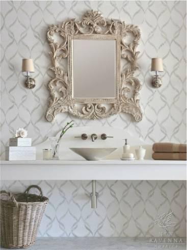 Fotos de lavabos com espelho vitoriano antigo