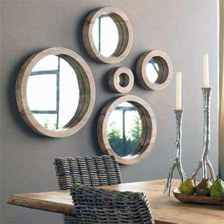 Dicas para decorar com espelho decorativo redondo