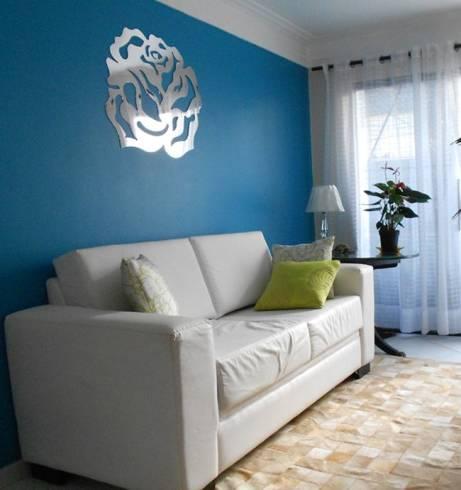 Dicas de desenhos espelhados adesivos para decorar sala
