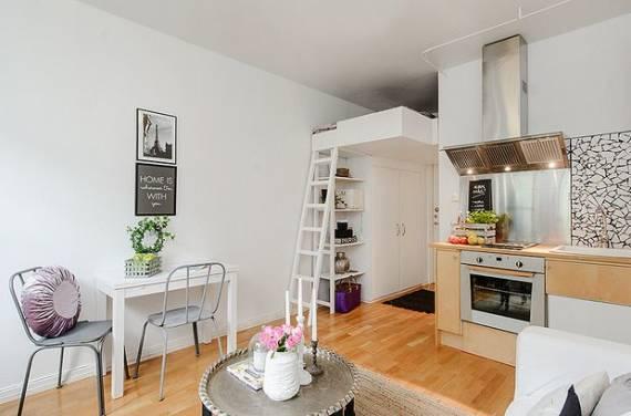 DECORAÇÃO DE KITNET 40 Dicas Valiosas e Fotos! # Cozinha Compacta Para Kitnet
