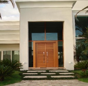 Porta de entrada francesa moderna