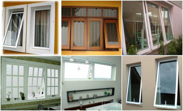 janelas maxim- ares vários tipos