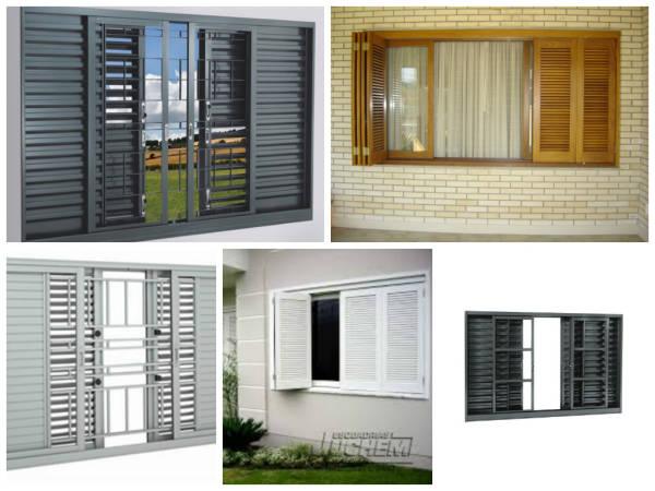 modelos de janelas venezianas