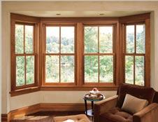 modelo de janela bay window em madeira
