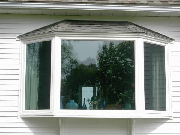 janela bay window toda em vidro