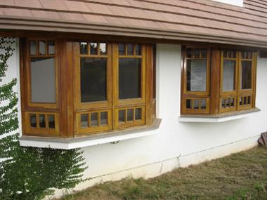 janelas bay window lado a lado