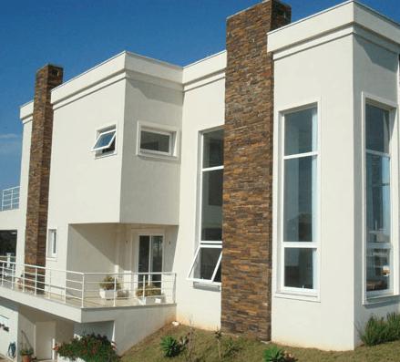 foto de casa com várias janelas maxim-ares