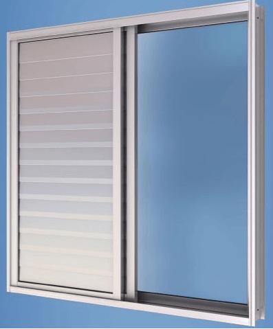 janela modelo de correr em alumínio