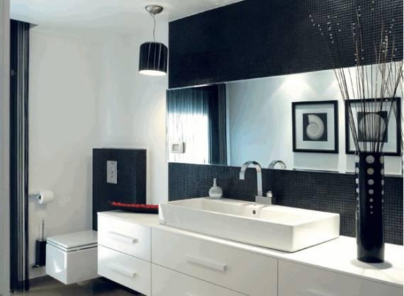 BANHEIROS COM PASTILHAS 60 Modelos e Dicas -> Pia Do Banheiro De Luxo