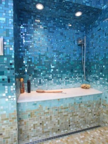 banheiros com pastilhas 60 modelos maravilhosos e dicas. Black Bedroom Furniture Sets. Home Design Ideas