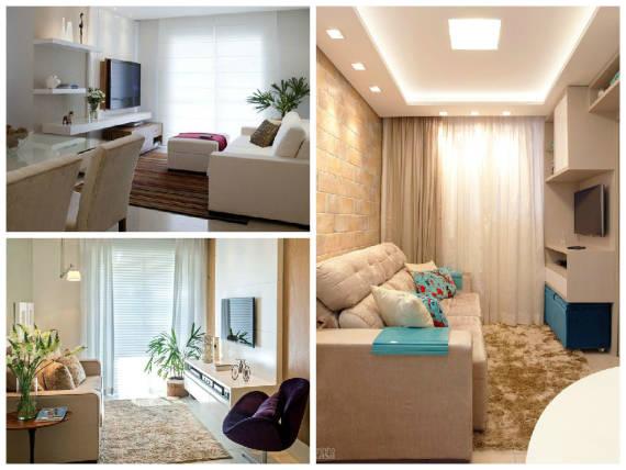 Sala De Estar Na Cor Azul ~ CORES PARA SALA DE ESTAR e TV 60 Dicas e Fotos