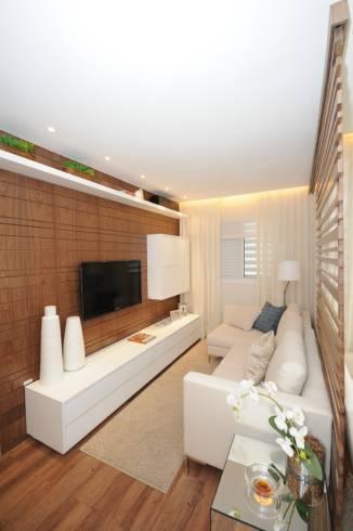 Cores para sala de estar e tv 60 dicas e fotos - Armarios para sala de estar ...