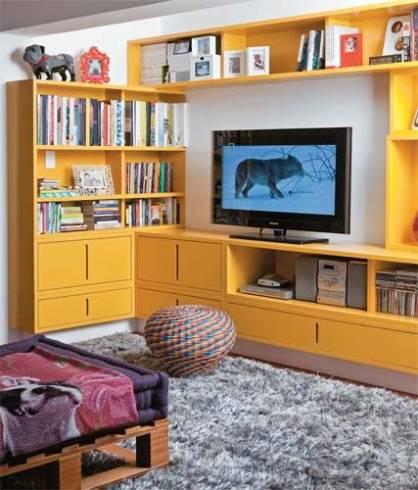 ideia de cor para sala amarela