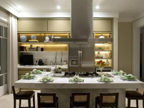 cozinha com ilha 35