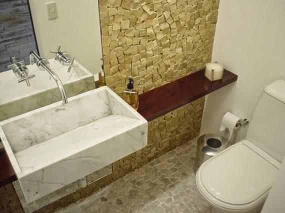 CUBA PARA BANHEIRO 70 Modelos e Dicas Simples -> Tamanho De Uma Cuba Para Banheiro
