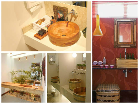 CUBA PARA BANHEIRO 70 Modelos e Dicas Simples -> Mesa Para Cuba Banheiro