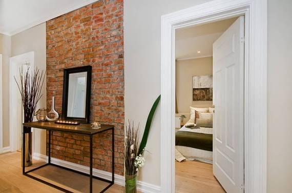 decoracao de apartamentos pequenos rustico : decoracao de apartamentos pequenos rustico:Hall de entrada de apartamento decorado: Conheça dicas interessantes