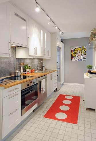 dica de decoração para cozinha pequena