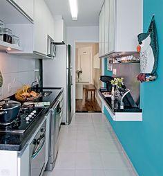 como decorar cozinha pequena e simples