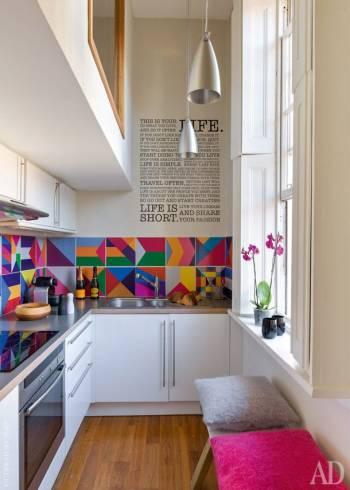 cor para decoração de cozinha pequena