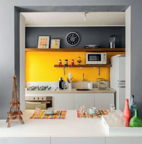 decoração jovem cozinha pequena