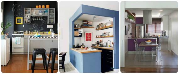 ideias para decorar cozinha americana pequena