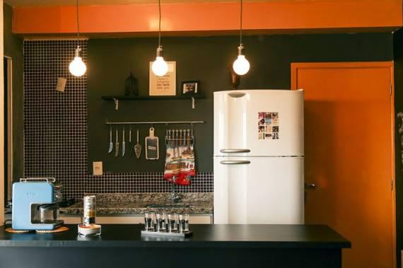 ideia de cor para cozinha pequena