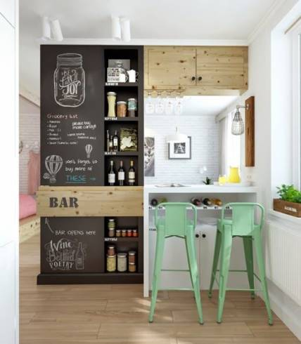dica para decorar cozinha pequena