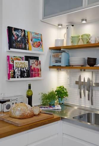decora o de cozinha pequena 50 dicas e fotos. Black Bedroom Furniture Sets. Home Design Ideas
