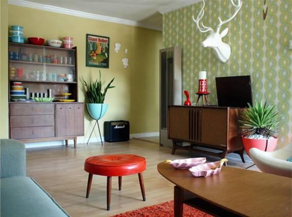decoração vintage e retro 5