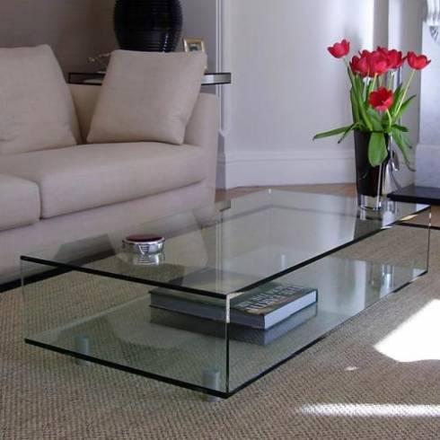 Mesa de centro 80 dicas fotos onde comprar - Mesa centro de cristal ...