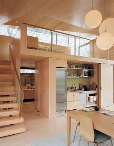 Mezanino 50 dicas modelos fotos projetos for Modelos de casas minimalistas pequenas