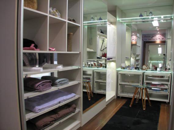 Modelos de closet 60 dicas e fotos for Modelos de closets para dormitorios