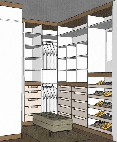 modelos de closet 21
